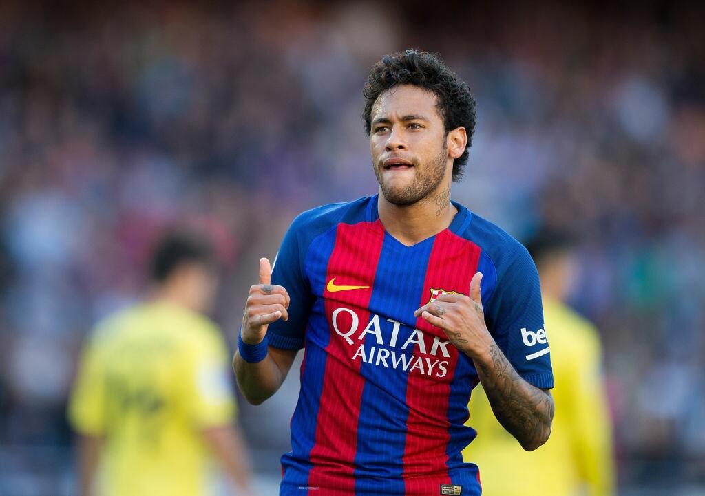 Neymar no foco das atenções