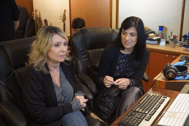 Fernanda Brum faz sessão de fotos para CD