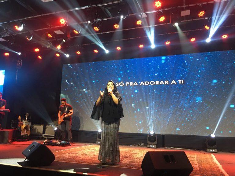 Cassiane grava live session do novo CD em São Paulo