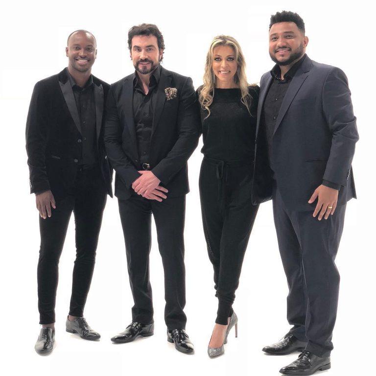 Thiaguinho, Padre Fábio de Melo, Adriana Arydes e Eli Soares
