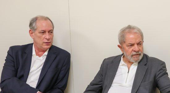 Ciro Gomes e o ex-presidente Lula