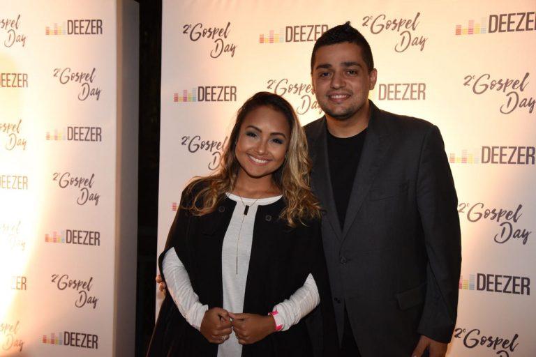 Bruna Karla e o marido Bruno Santos