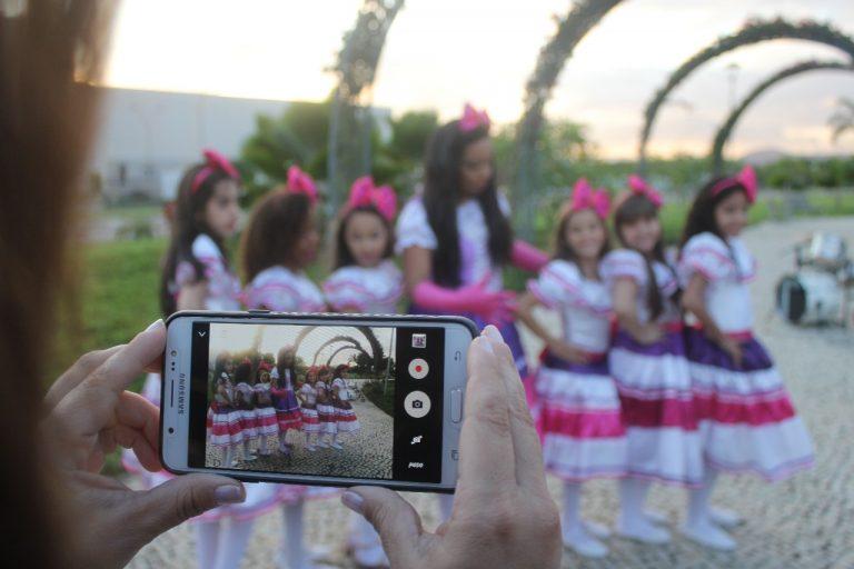 Gravação do clipe Festa da Formiguinha
