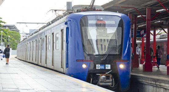 SuperVia retirou 40 trens de circulação