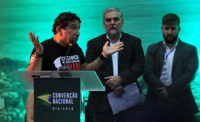 Em discurso, Magna Malta garante apoio a Jair Bolsonaro