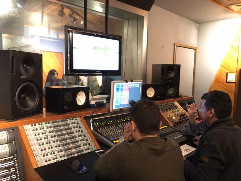 Gravação foi feita no estúdio da MK Music