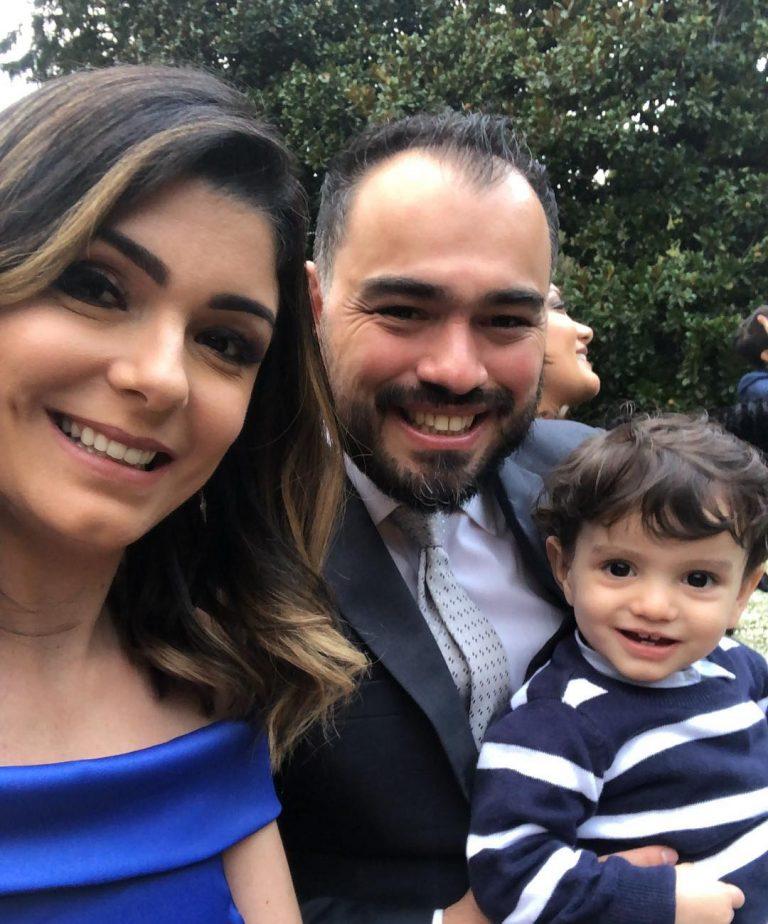 Gabriela Rocha e Leandro Moreira se casaram em hotel cinco estrelas na Itália