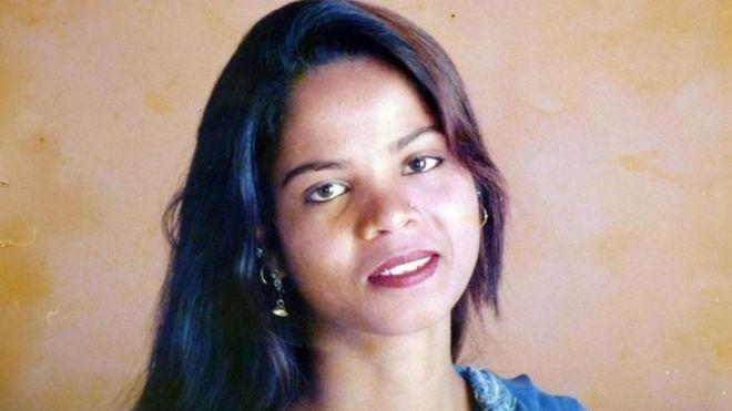 A paquistanesa Asia Bibi