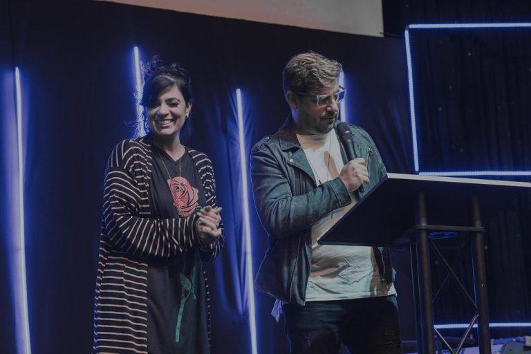 Fernanda Brum e Emerson Pinheiro