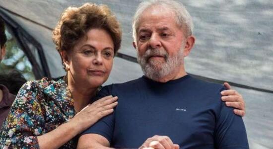 Ex-presidente Dilma e Lula