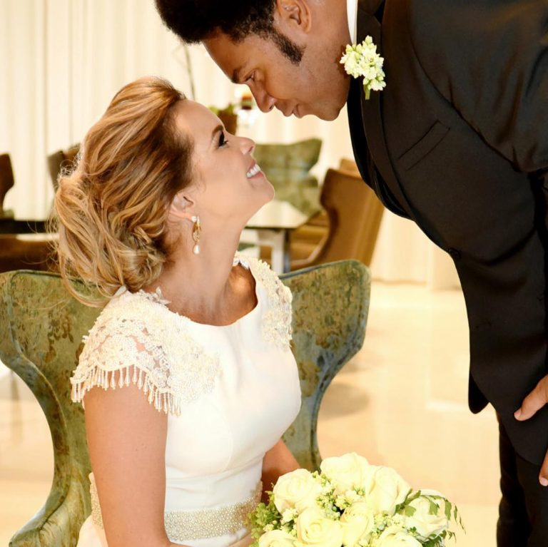Thalles e Daniela celebraram 10 anos de casados
