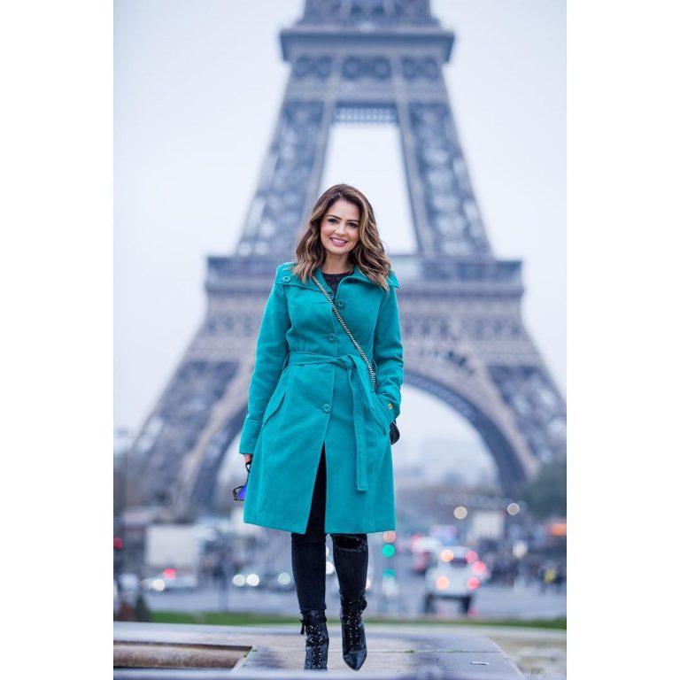 Pamela também visitou Paris e Israel em 2018