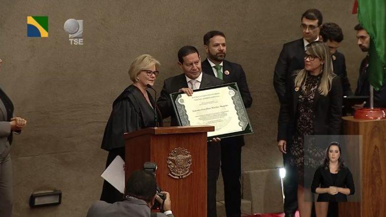 Cerimônia de diplomação de Jair Bolsonaro e Hamilton Mourão