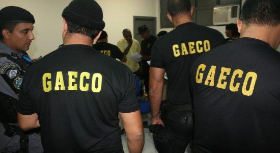 Operação policial do GAECO