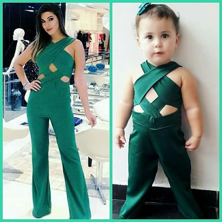 Menina também usa modelos semelhantes ao de outras famosas