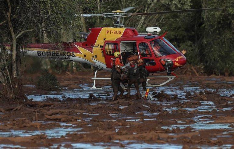 Barragem da Vale em Brumadinho, MG, se rompeu no dia 25 de janeiro
