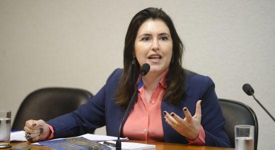 Simone Tebet, presidente da CCJ do Senado
