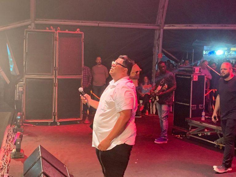 Anderson Freire canta no Jesus Vida Verão