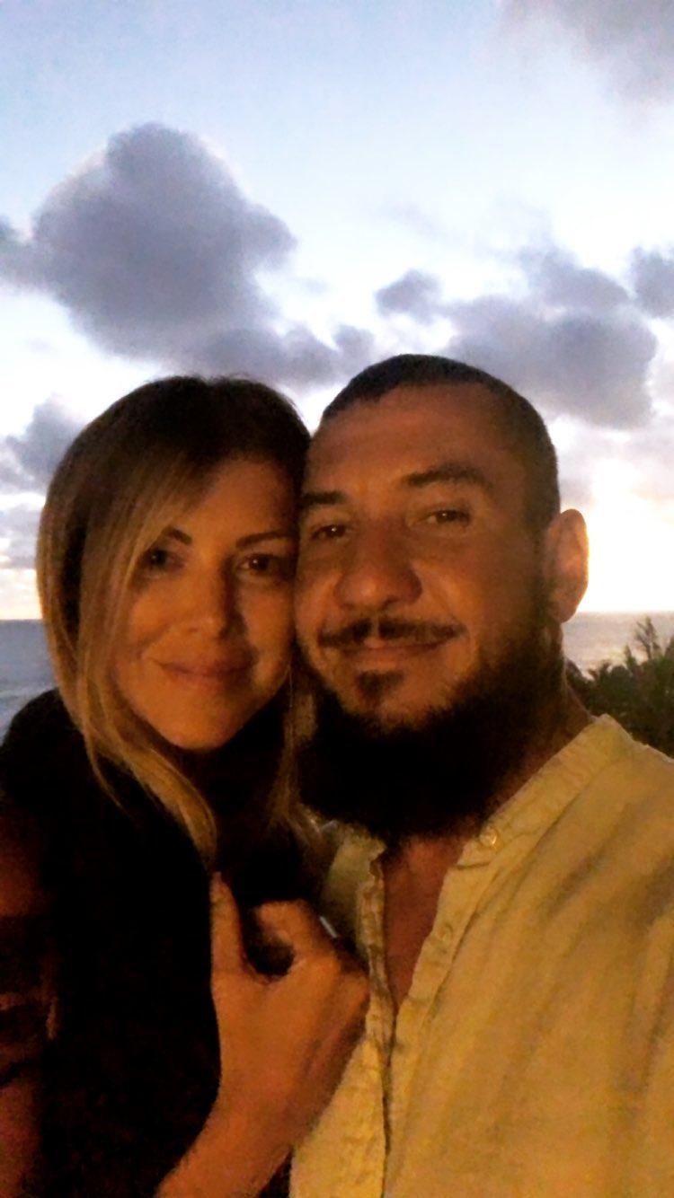 Rodolfo e Alexandra Abrantes curtem destino paradisíaco no Havaí