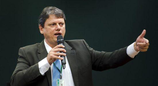 Ministro da Infraestrutura, Tarcísio Gomes de Freitas