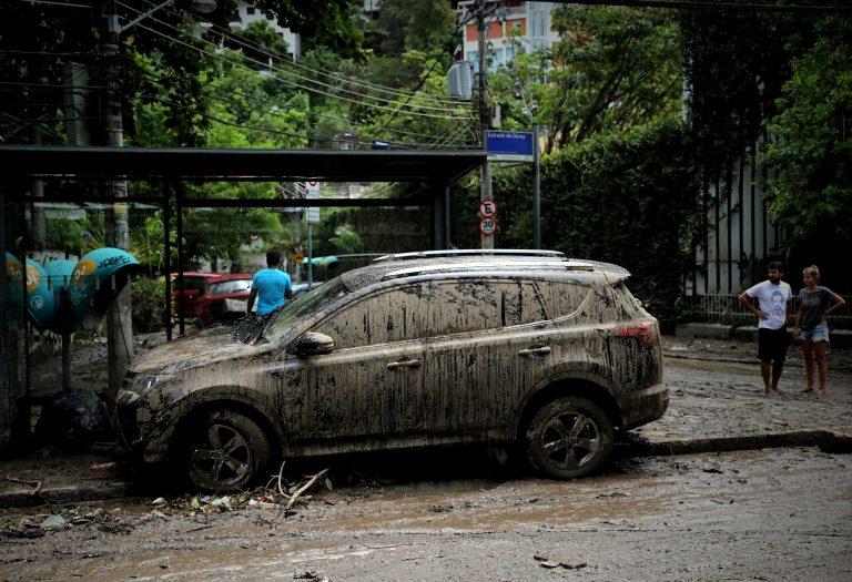 Temporal e ventos fortes atingiram o Rio de Janeiro