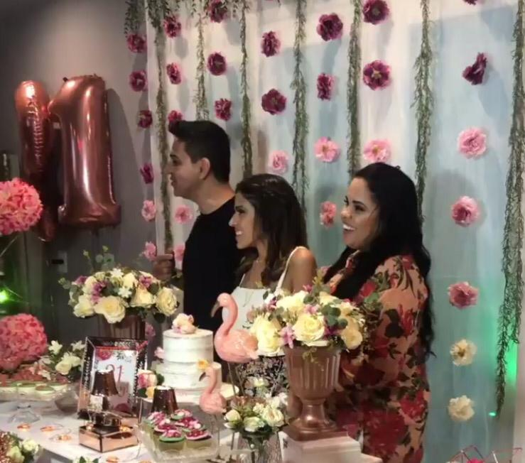 Jay, filha de Cassiane e Jairo Manhães faz festa de aniversário