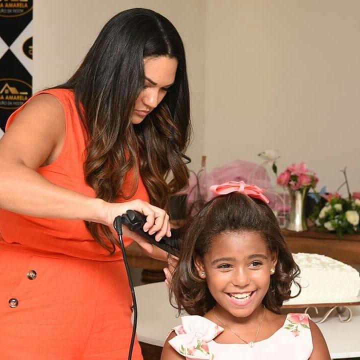 Sophia Vitória comemorou seu aniversário de 10 anos rodeada da família e dos amigos