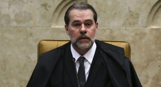 Ministro Dias Toffoli, presidente do STF