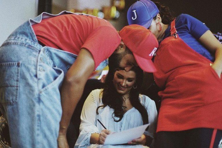 Juliana Santiago e o marido, Rafael Fagundes, descobrem sexo do bebê