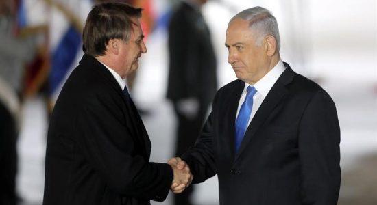 Presidente Bolsonaro em viagem oficial de quatro dias a Israel