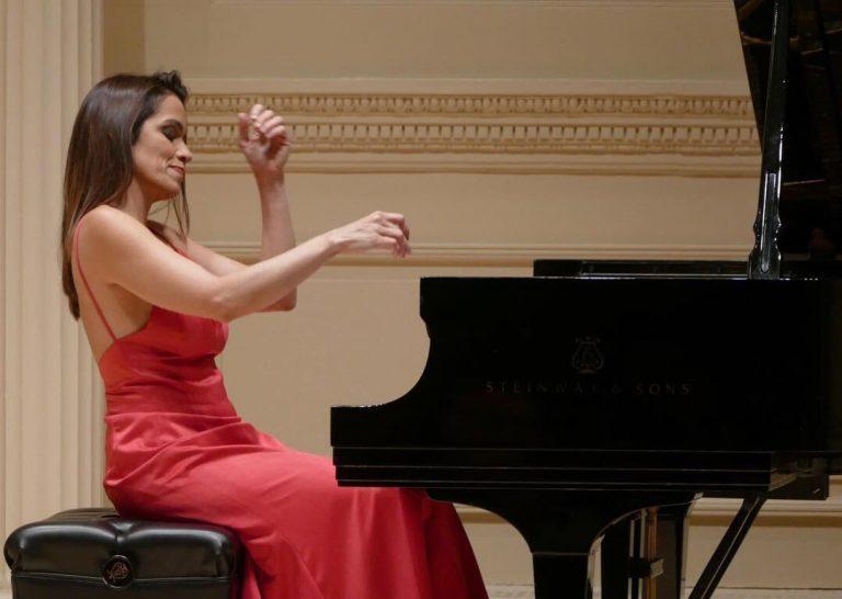 No Carnegie Hall, em Nova York - janeiro deste ano