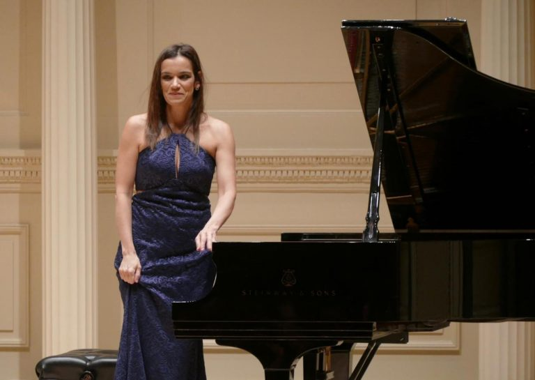No Carnegie Hall, em Nova York - janeiro de 2019