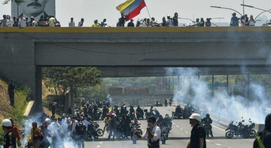 Confronto na Venezuela