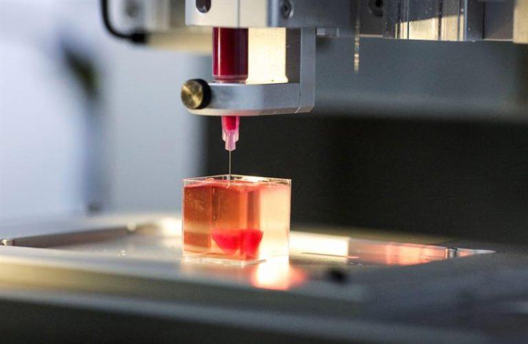 Coração em impressora 3D