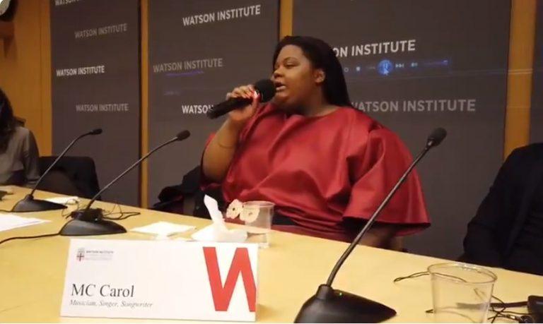 MC Carol, Márcia Tiburi e Jean Wyllys palestram em universidade dos EUA