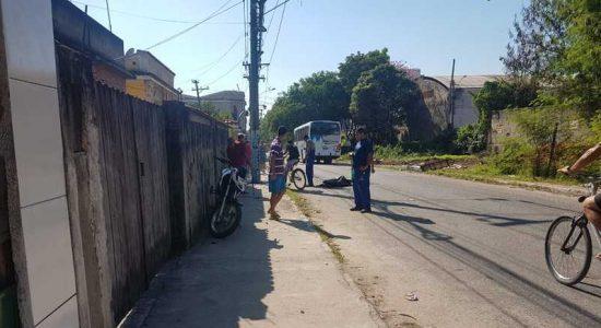 Acidente de moto causou a morte de duas pessoas