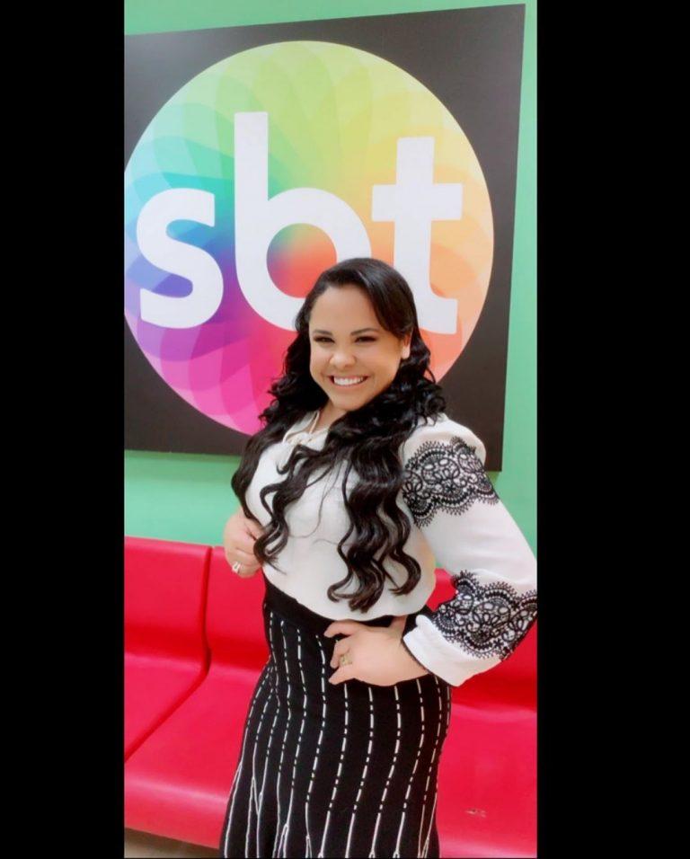 Cassiane participou de gravação no programa de Eliana, no SBT