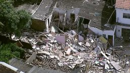Explosão deixou duas pessoas mortas