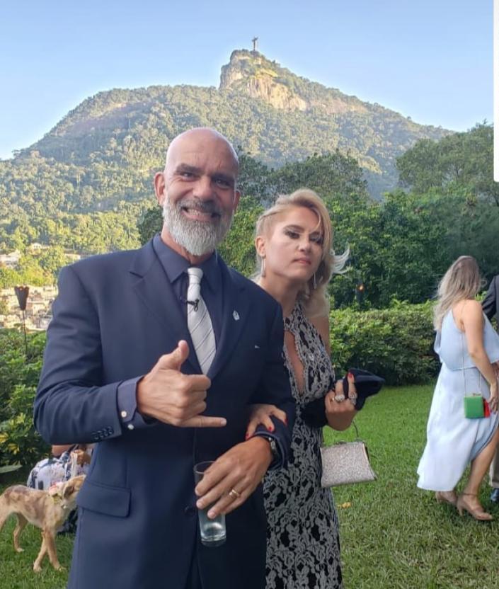 Casamento de Eduardo Bolsonaro e Heloísa Wolf