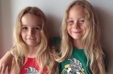 Cooper e Jensen Allen, com 6 e 7 anos
