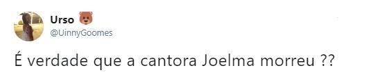 Boatos da morte de Joelma se espalharam nas redes sociais