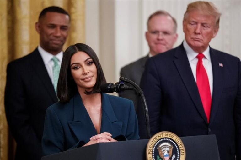 Kim Kadarshian lançou projeto para contribuir com a reforma do sistema prisional americano