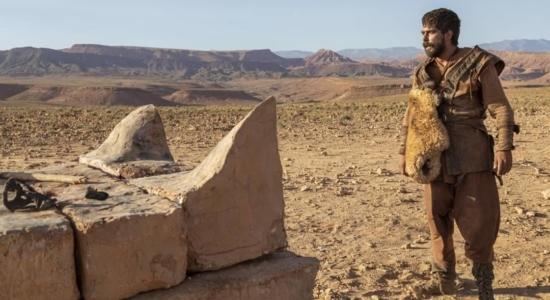 Elias desafia os profetas de Baal na macrossérie Jezabel