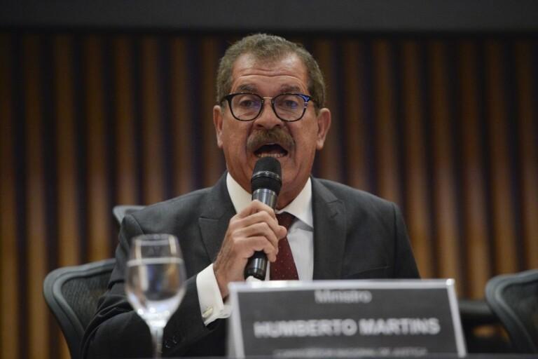 Vice-presidente do STJ Humberto Martins