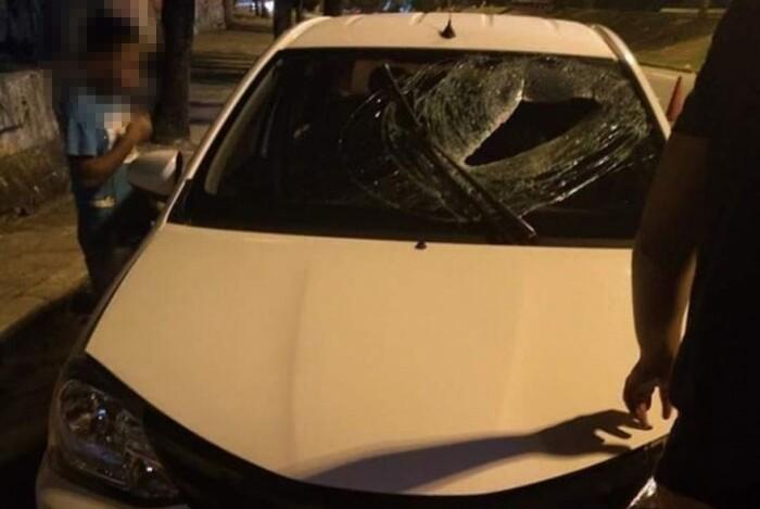 63f306842b2e0 Motorista de app morre ao ser atingido por bloco de concreto ...
