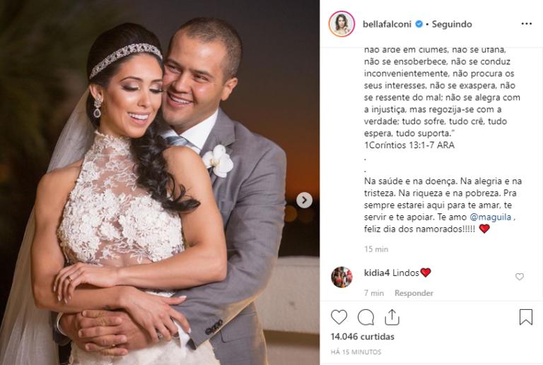 Bella Falconi e Ricardo Maguila