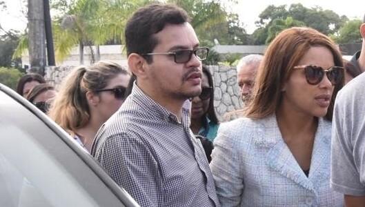 Flávio dos Santos e a deputada Flordelis