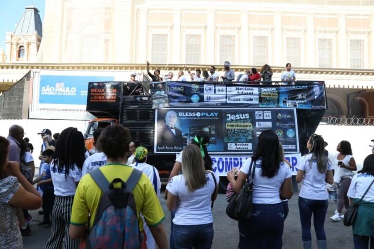 27ª Marcha Para Jesus acontece nesta quinta em São Paulo