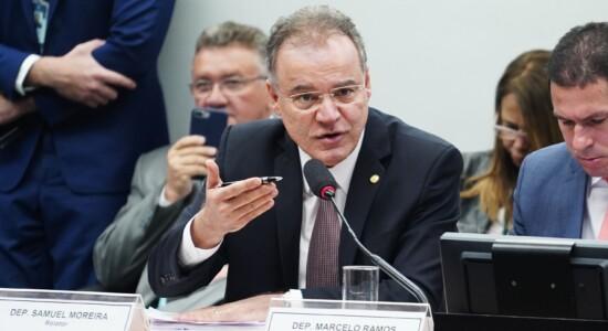 Relator da reforma da Previdência, deputado Samuel Moreira