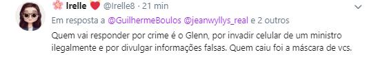Guilherme Boulos é criticado após falar em prisão para Carlos Bolsonaro